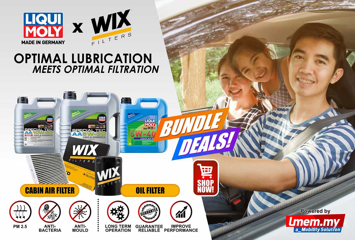 Liqui Moly Engine Oil and Wix Filters promotion